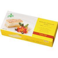 春雪さぶーる チーズケーキセット(ブリュレ&レアチーズ) 28172 1箱(2本入)(直送品)