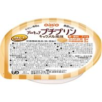 日清オイリオグループ プロキュアプチプリン 40g キャラメル風味 1ケース(18個入) 介援隊 E1599(直送品)