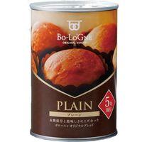 ボローニャFC本社 備蓄de ボローニャ ブリオッシュパン プレーン 1ケース(24缶) 介援隊 E1634(直送品)