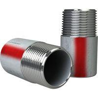 尾川パイプ SUS316 TP-A 規格片短ニップル 32A-50L c1-m3-27-s2-size32-50 1個(直送品)