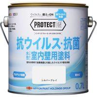 ニッペホームプロダクツ PROTECTON インテリアウォール 0.7L シルバーグレイ(4個入り) 4150003 1セット(4個入)(直送品)
