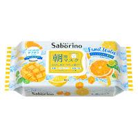 【数量限定】Saborino サボリーノ 目ざまシート マンゴー&シトラスの香り 28枚入 朝用 フェイスマスク BCLカンパニー
