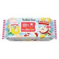 【数量限定】Saborino サボリーノ 目ざまシート パイン&アップルの香り 28枚入 朝用 フェイスマスク BCLカンパニー