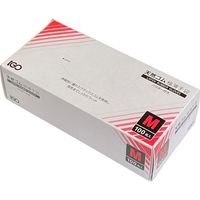 アイ・ジー・オー 天然ゴム極薄手袋 粉有り M 100枚入り LX-GU-03 1箱(直送品)
