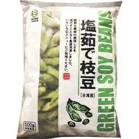 ミホウジャパン 塩茹で枝豆 台湾産 4513896012430 10袋:500g(直送品)