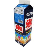 スミダ飲料 かき氷 ブルーハワイ 4901741013037 5本:1000ml(直送品)
