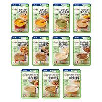 アサヒグループ食品 バランス献立 かまなくてよい おかず7種・素材4種詰合せセット 4987244191885 1箱(14袋入)