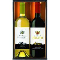 ロイヤルリカー 【お中元ギフト・のし付き】ロイヤルリカー イタリア赤白ワイン2本セット ES-30C 989654 1セット(直送品)