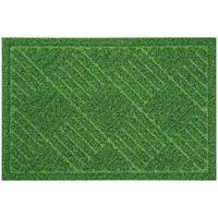 ベストコ 玄関マット 40×60cm グリーン 泥落とし 水洗いOK グラススタイルマット 芝生調 ND-612(直送品)