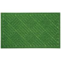 ベストコ 玄関マット 45×75cm グリーン 泥落とし 水洗いOK グラススタイルマット 芝生調 ND-613(直送品)