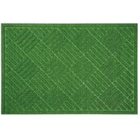 ベストコ 玄関マット 60×90cm グリーン 泥落とし 水洗いOK グラススタイルマット 芝生調 ND-614(直送品)