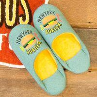 オカトー Cozydoors スリッパ Burgershop 4905016004768 1個(取寄品)