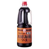 ブルドックソース株式会社 徳用お好み焼ソース ハンディパック 業務用 1本(1.8L)