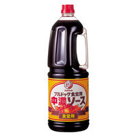 ブルドックソース株式会社 食堂用中濃ソース ハンディパック 業務用 1本(1.8L)