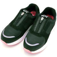 東邦レマック 安全靴 レディースプロテクティブスニーカー 29513 ブラック 24.5cm 29513-24.5 1足(直送品)