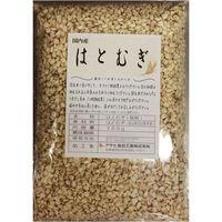 豆力 こだわりの国産 精白はと麦(丸粒挽割混合) 500g 【はとむぎ 国内産】 (直送品)