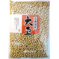 まめやの底力 北海道産大豆 1kg 【限定品 大豆 だいず 大特価】 (直送品)