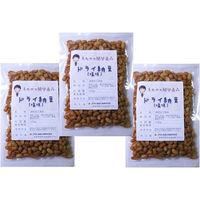 豆力 国内産 ドライ納豆(塩味) 100g×3袋 【国産、干し納豆、乾燥納豆 おつまみ】 (直送品)