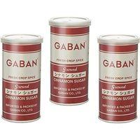 GABAN シナモンシュガー (缶) 140g×3個 【ミックススパイス ハウス食品 香辛料 パウダー 業務用】 (直送品)