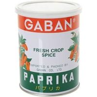 GABAN パプリカ パウダー (缶) 225g 【スパイス ハウス食品 香辛料 粉 業務用 甘唐辛子 Papurika】 (直送品)