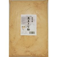 こなやの底力 国内産 黒豆きな粉 1kg 【きなこ 国産 黒大豆】 (直送品)