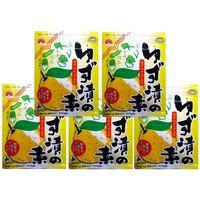 奈良つけもん屋の ゆず漬の素 80g×5袋 【つけもと 国内加工 漬物 柚】 (直送品)