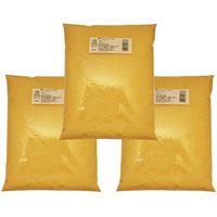 小麦ソムリエの底力 コーンミール 1kg×3袋 【コーングリッツ、イエローコーン、とうもろこし粉】 (直送品)