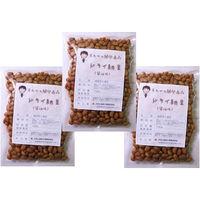 豆力 国内産 ドライ納豆(醤油味) 100g×3袋 【国産、干し納豆、乾燥納豆 おつまみ】 (直送品)