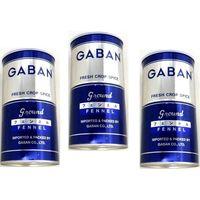 送料無料 GABAN フェンネル パウダー (缶) 300g×3個 【スパイス ハウス食品 香辛料 粉 業務用 Fennel ういきょう】 (直送品)