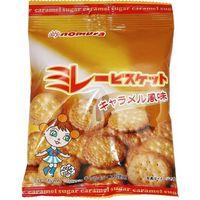ミレービスケット(キャラメル風味) 70g×10袋 【野村煎豆加工店 高知 お菓子 駄菓子 やっぱりまじめ】 (直送品)