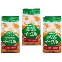 小麦ソムリエの底力 強力小麦粉 イーグル(強力粉 ニップン) 1kg×3袋 (直送品)