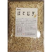 送料無料 豆力 こだわりの国産精白はと麦(丸粒挽割混合) 1Kg (直送品)