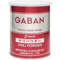 GABAN チリパウダー(缶) 225g 【ミックススパイス ハウス食品 香辛料 パウダー 業務用 唐辛子】 (直送品)