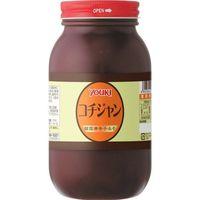 ユウキ食品 コチジャン 1kg 【YOUKI 韓国調味料 コチュジャン 唐がらしみそ 辛味噌 辛みそ】 (直送品)