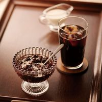 【お中元ギフト・のし付き】アデリー 丸福珈琲店 珈琲と小豆のゼリー&アイスコーヒーA MRF-002 1個(直送品)