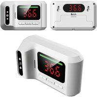 ミスターカード 非接触温度計デュアルモニター 温度はかろう前後 MR-NCQ3P-WH 1台(直送品)
