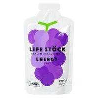非常食 LIFE STOCK 5年保存ゼリー エナジータイプ グレープ味 ワンテーブル 1セット(1個(100g)×2)