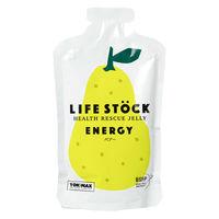 非常食 LIFE STOCK 5年保存ゼリー エナジータイプ ペアー(洋梨)味 ワンテーブル 1箱(1個(100g)×80)