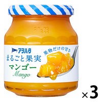アヲハタ まるごと果実 マンゴー 250g 1セット(3個)