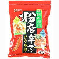粉唐辛子(韓国料理用) 200g ユウキ食品