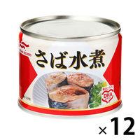 マルハニチロ さば水煮 1セット(12缶)