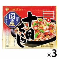 ミツカン 十目ちらし <煮しめ具230g、すし酢(別添)> 270g 3個