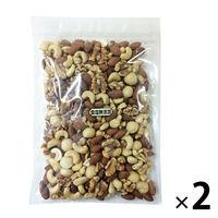 みやさか食品 AS 食塩無添加ミックスナッツ 500g 1セット(2個)