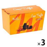 【成城石井】〈マテス〉 ファンタジートリュフチョコレート オレンジピール250g 1セット(3個)
