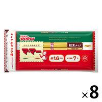 日清フーズ マ・マー チャック付結束スパゲティ 1.6mm (600g) ×8個