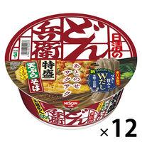日清食品 日清のどん兵衛 特盛天ぷらそば(東日本版) 12個