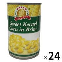 【並行輸入品】【並行輸入品】ツインファイブ コーン缶 425g 24缶