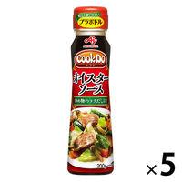 味の素 CookDo(クックドゥ) オイスターソース 200gプラボトル (中華醤調味料) 5本