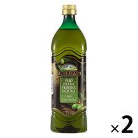 イタリア産 レ・プレイアディ エクストラバージン オリーブオイル ペットボトル 1000ml 1セット(2本入)