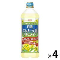 日清キャノーラ油ナチュメイド 900g 4本 日清オイリオ